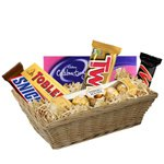 Chocolaty Love Gift Basket