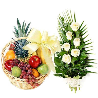 Aromatic Eternity Fruit and Flower Assortment