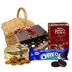 Invitation to Savor Chocolate Gift Basket