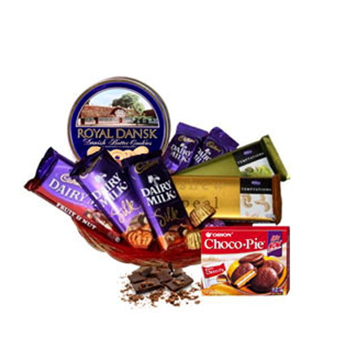 Chocolate Explosion Gift Basket
