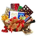 Expression of Chocolaty Love Gift Basket