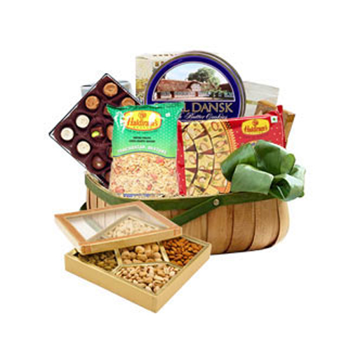 Sweet and Sour Romance Snacks Basket