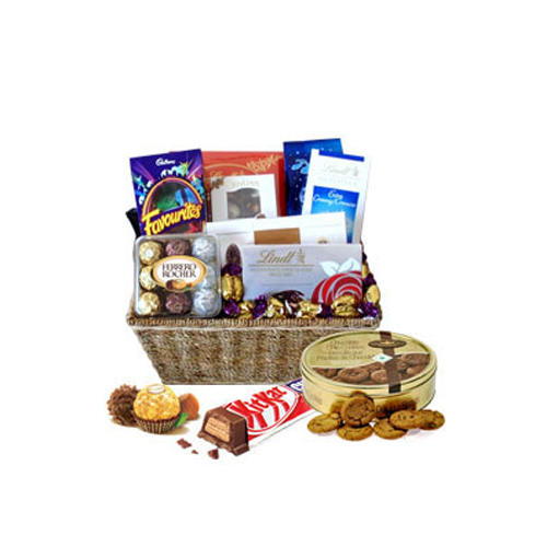 Grand Chocolate Celebration Gift Basket