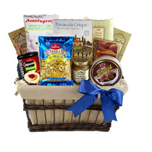 Invitation of Heart Food Basket