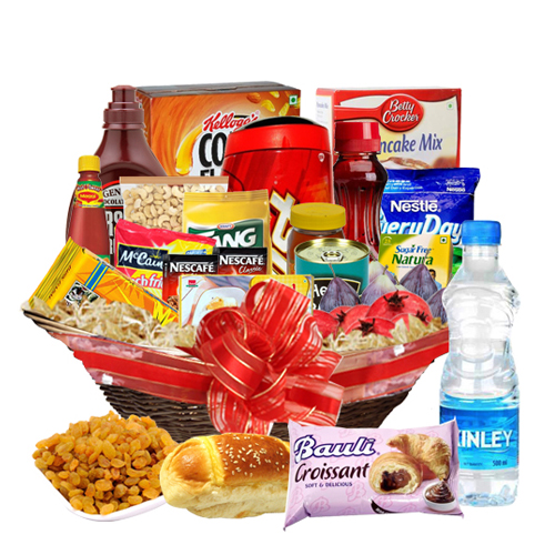 Flavors Delight Gift Basket