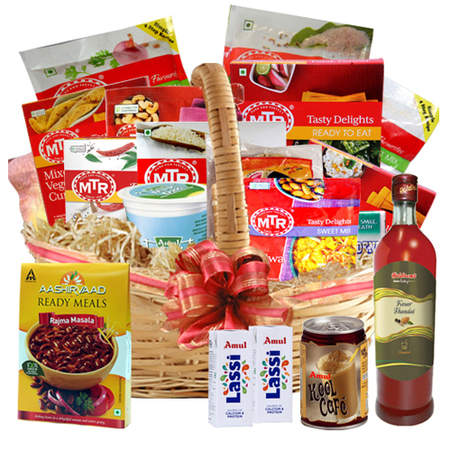 A Yummy Treat Gift Hamper Basket