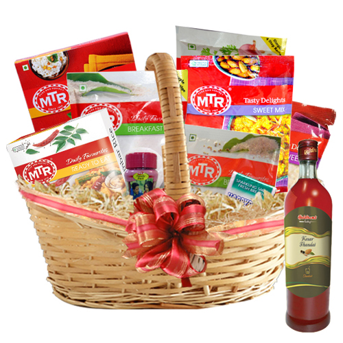 Ecstasy of Savor Gift Collection Basket