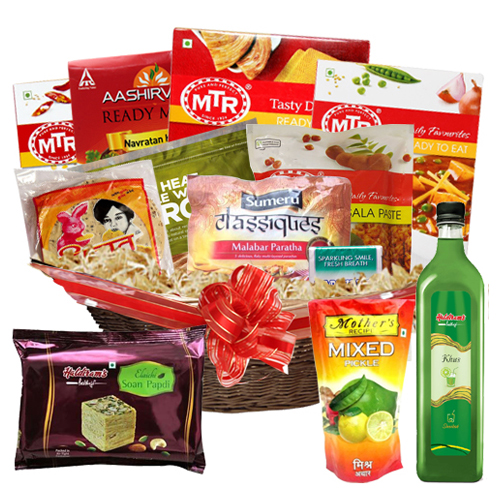Explosion of Flavors Gift Basket