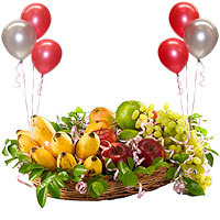 Merry Bounty Fresh Fruits Array
